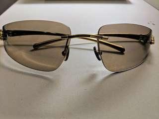CARTIER DESIGNER SUNGLASSES. Panthere De Cartier Rimless Sunglasses Women. Panther Side Designer Sunglasses