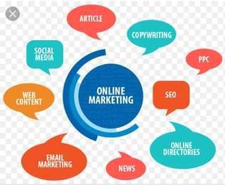 Mencari part time/full time online marketing