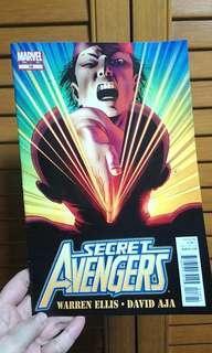 Marvel Secret Avengers Magazine Comics