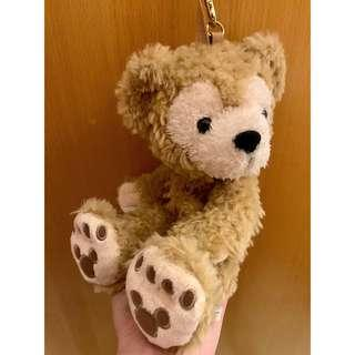 Disney Duffy Bear Doll Plush Wristlet Purse Bag 掛袋
