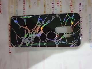 Case hp samsung S9+ Marble Hilogram Black