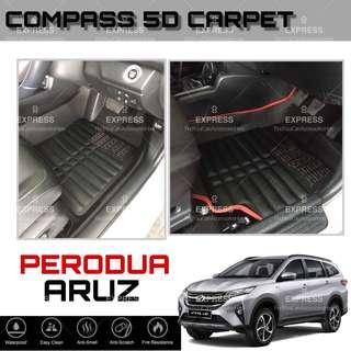 Perodua Aruz SUV OEM 5D Carpet
