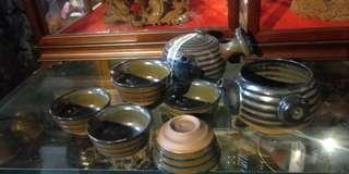 🚚 日本茶具組 一壺 六杯 一茶海 清倉庫