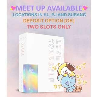 [PRE-ORDER + MEET UP ONLY] BTS 'LOVE YOURSELF' SEOUL BLU RAY