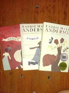 Seeds of America Trilogy by Laurie Halse Anderson (SOLD AS A SET)