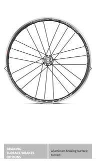 FULCRUM ZERO (with Panaracer Race A Tyres and Tubes)
