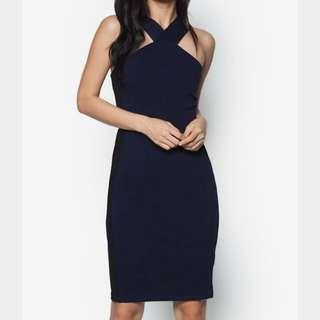 🚚 Zalora Collection Wide Strapped Bodycon Dress