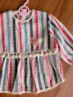 New baby girl clothes protection