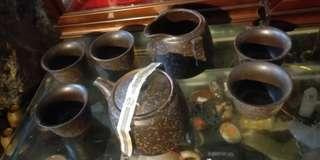 🚚 日本茶具組 一壺 五杯 一茶海 清倉庫