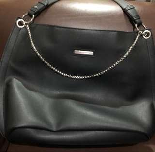 Marithé+François Girbaud Black shoulder bag