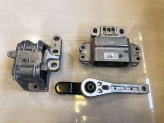 ENGINE MOUNTING + GEARBOX MOUNTING + DOGBONE MOUNT CAXA CAVD AUDI TT 8J A3 8P Q3 1.4 2.0 JETTA TOURAN TIGUAN GOLF SCIROCCO MK5 MK6