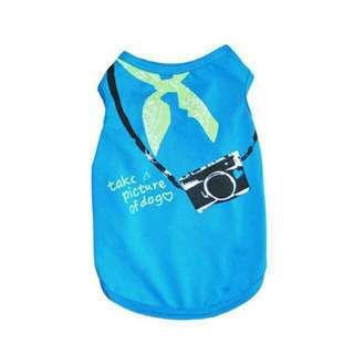 BNIP pet camera shirt