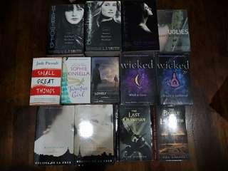 WTS VARIOUS TITLES BY VARIOUS AUTHORS