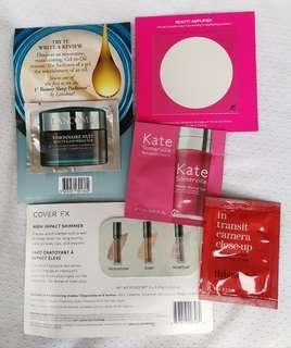 Skincare & Makeup Sample Bundle D