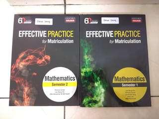 Oxford Fajar Matriculation Mathematics