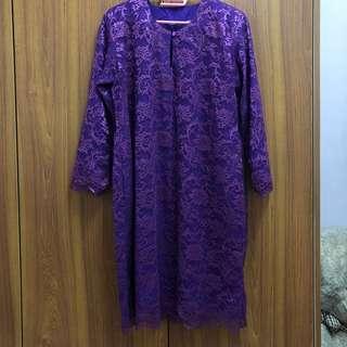 Baju Kurung Moden French Lace
