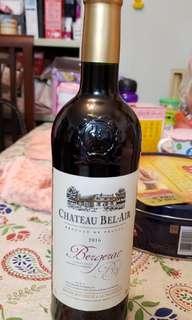Chateau Bel Air 2016 紅酒一枝 75cl 14% vol.