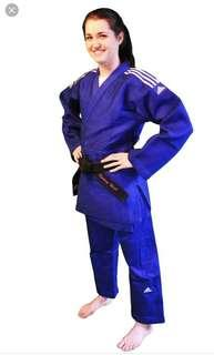 🚚 Adidas champion blue judo gi IJF approved