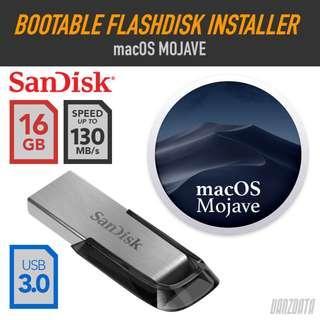 BOOTABLE FLASHDISK INSTALLER USB 3.0 - OS X Mojave
