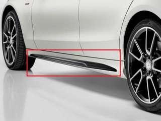 Mercedes W205 AMG line side skirt