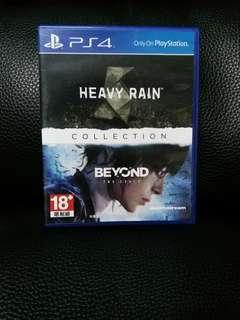 PS4  HEAVY RAIN  BEYOND TWO SOULS  COLLECTION