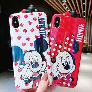 Mickey minnie mouse 3D figure phone case