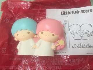 日本麥當勞 Little Twin Stars 牙刷座包寄