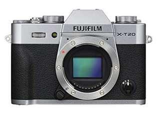 🚚 Fujifilm XT20 body with FREE gift