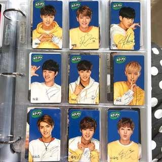 🚚 exo sunny10 version 2 photocards