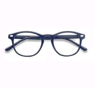 Kacamata frame blue