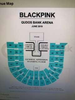 Selling 2 BlackPink GA Standing Tickets for Sydney 15/6/19