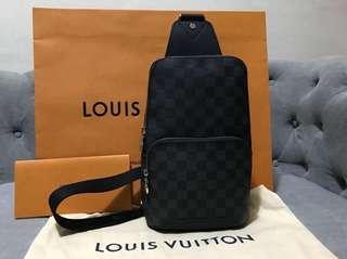 cb980d803e3f LV Louis Vuitton Avenue Sling Bag (new)