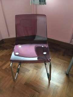 Chair (one only)