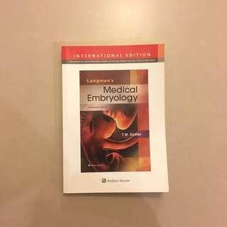 Langman's Medical Embrology Textbook