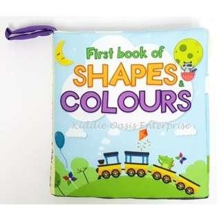 Soft Book Shapes and Colors