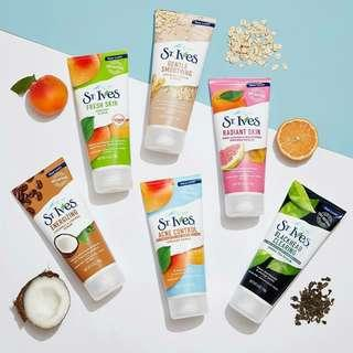 St. Ives Face Scrub Face Wash