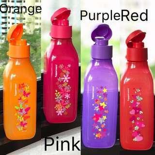 Tupperware Eco Bottle Sparkle Square 500ml