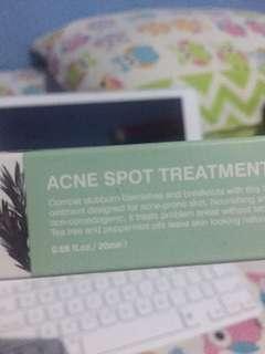 Acne spot treatment