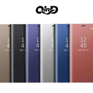 QinD SAMSUNG Galaxy S10 透視皮套