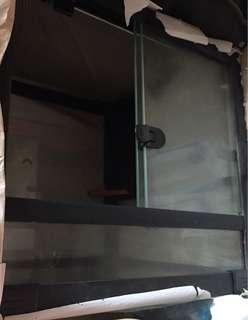 二手 爬蟲類 蜥蜴 陸龜 玻璃缸 玻璃箱 寵物缸