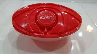 Limited edition coca- cola lunch box with fork #MMAR18