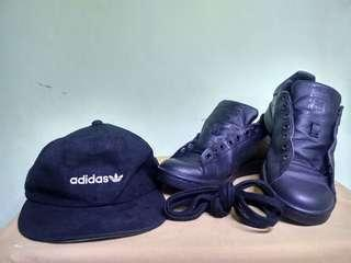 Adidas Stan Smith & Topi Adidas Original
