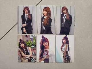 TWICE ONCE BEGINS PHOTOCARDS