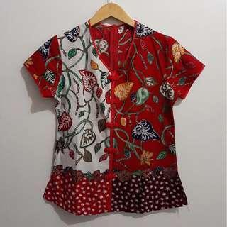 Shanghai Red Batik