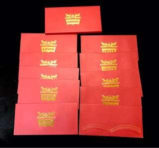 Levi's red packet Angpow