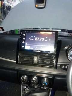 Toyota Vios OEM 10 Inch IPS 2.5D 4G Wifi Android Player