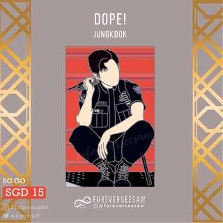 🚚 [SG GO] BTS Dope! Pins & Japan OT7 by @foreverseesaw