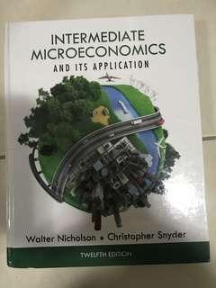 個體經濟原文書