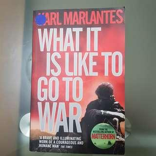 🚚 What it is like to go to war - Karl Marlantes