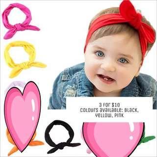 🚚 Baby Girl Hairband